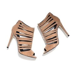 Treat your feet to these caged high heel sandals  #dorothyperkins
