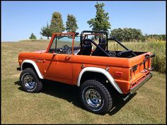 You won't catch me in a ford but this might be the exception :) Bronco