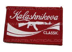 Pantel Tactical KALASHNIKOVA Classic Morale patch