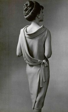 Dress by Guy Laroche, 1961.
