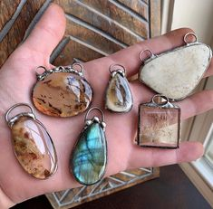 @borneunique Soldered pendants