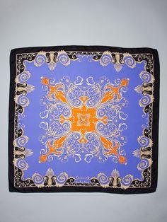 Versace  Foulard Silk Scarf