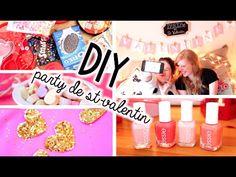 ♡ DIY   Party de St-Valentin!!! Snacks, Déco, Outfits et plus!!