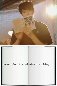 """You know, that's some """"damn good advice"""".. GET IT HAHA...I'll walk myself out #badpun"""