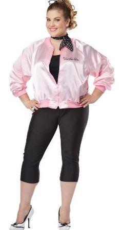 California Costumes Women's Plus-Size The Pink Satin Ladie... #halloween #costume