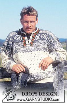 Nordisk DROPS sweater eller jakke i Karisma med eller uden bånd. lang eller kort. Sokker hue pandebånd vanter ~ DROPS Design