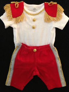 I made this Prince Charming costume for my 3 month old son. Lot of work, but well worth it! So cute!