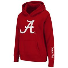 Alabama Crimson Tide Ladies Supernova Pullover Hoodie - Crimson