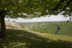 El sorprendente Balcón de Pilatos, en la Sierra de Urbasa, (#Navarra)