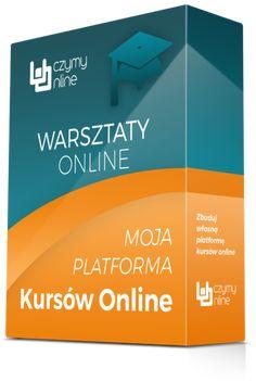 Moja Platforma Kursów Online to kompleksowy program budowania własnej platformy sprzedaży produktów cyfrowych. W skład warsztatów wchodzą webinary na żywo, instrukcje wideo z materiałami dodatkowymi, indywidualne konsultacje i wsparcie na grupie FB.