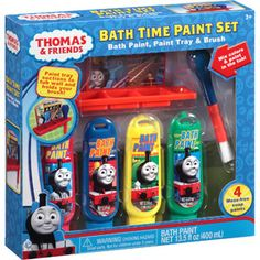Thomas & Friends Bath Time Paint Set, 6 pc