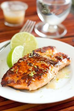Cooking Classy: Pan Seared Honey Glazed Salmon with Browned Butter Lime Sauce - The Best Salmon I've Ever Eaten (bonus a 15 minute recipe)