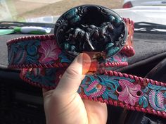 Custom painted belts , join us on Facebook DustyCowgirl leather, www.dustycowgirlleather.com