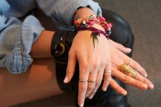 Sally Lyndley wearing an Alexis Bittar ring #style #jewelry