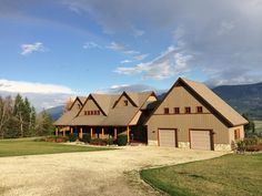 Home for Sale - 229 Glenmary RD, Enderby, BC V0E 1V3 - MLS® ID 10082234 Country Living at it's best. This exceptionally designed & constructed home on 24 acres has sweeping views of the Enderby Valley, the Cliffs & the Shuswap River. It was appraised in Dec/2013 for $850,00. Features include post & beam construction, wrap around cedar decks, 4 large bedrooms each with ensuites & dormers &built-in window seats,