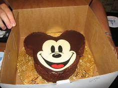 Mickey Mouse birthday cake from Walt Disney World!