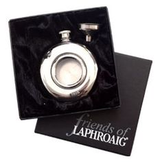 Laphroaig Hipflask looking for the hubby