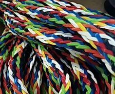 Rainbow Water Ski Rope for Braids