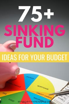 Looking for types of sinking fund? Here are over 75 ideas that you can incorporate in your budget. Budgeting Finances, Budgeting Tips, Apps For Couples, Capital One 360, Monthly Budget Template, Budget App, Sinking Funds, Budgeting Worksheets