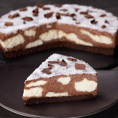 Cow cake without baking-Torta Mucca senza cottura The ideal dessert to amaze young and old with a mouth-watering cocoa and coconut-based filling: the Muuucca cake! Great Desserts, Delicious Desserts, Yummy Food, Sweet Recipes, Cake Recipes, Dessert Recipes, Cow Cakes, Torte Cake, Sweet Cakes