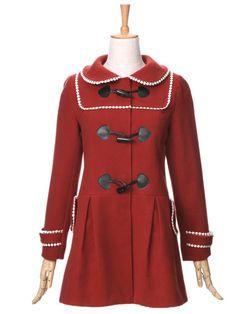 barbie doll toggle coat $69 #asianicandy #kawaii #indiefashion #asianfashion