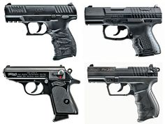 A look at four concealed carry Walther handguns that vary in caliber, size and configuration.