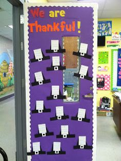 Thanksgiving Writing Activity and Bulletin Board Idea