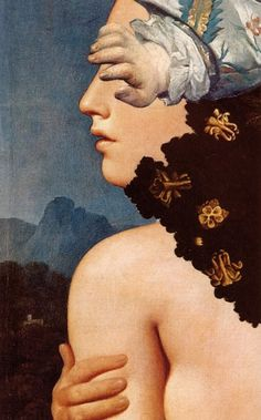 Roman Cieslewicz, Mrs Lacteur / The mysteries of Udolpho, 1975.    http://aliceito.tumblr.com/archive