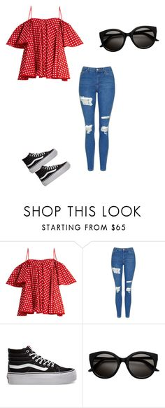 """""""Untitled #441"""" by austynh on Polyvore featuring Anna October, Topshop and Vans"""