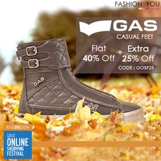 Make a statement without even trying too hard with #GAS Footwear at#GOSF. Shop Now>>http://bit.ly/1vQTCMt