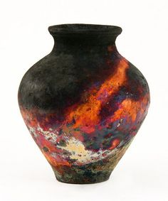 Kerry Gonzalez Raku Pottery ~ Copper Raku is an exciting firing technique that is difficult and challenging but yields spectacular results. Description from pinterest.com. I searched for this on bing.com/images