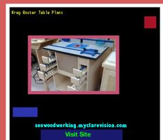 Kreg Router Table Plans 101717 - Woodworking Plans and Projects!