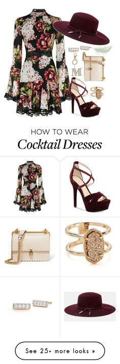 """Untitled"" by k-mur10 on Polyvore featuring Nicholas, Ted Baker, Jessica Simpson, Kendra Scott, Miss Selfridge, Walters Faith and Fendi"