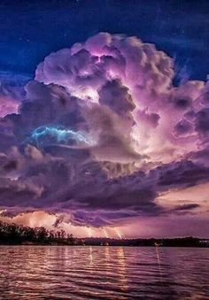 Cotton candy storm
