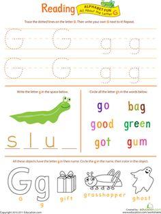 kindergarten readiness worksheets