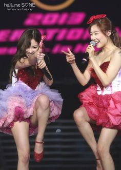 SNSD TaeYeon and Tiffany