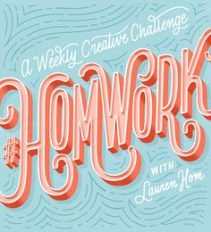 Want to boost your creativity, sharpen your lettering skills, and get comfortable sharing your work with me & a community cool creators? Retro Typography, Retro Logos, Typography Letters, Graphic Design Typography, Lettering Design, Vintage Lettering, Vintage Logos, Vintage Type, Typography Inspiration