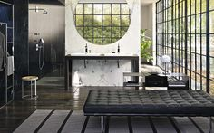 Find the perfect style for your dream bathroom. Use the Inspiration Tool by hansgrohe, to discover incredibly beautiful bathroom ideas. Interior Design Process, Luxury Interior Design, Modern Interior, Bad Inspiration, Bathroom Inspiration, Bathroom Ideas, Masculine Bathroom, Bathroom Collections, Dream Bathrooms