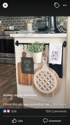 Farmhouse Kitchen Decor, Kitchen Redo, Home Decor Kitchen, Home Kitchens, Kitchen Dining, Kitchen Remodel, Kitchen Island Decor, Kitchen Ideas, Updated Kitchen