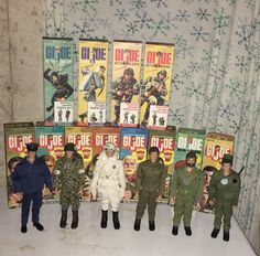 VINTAGE ACTION MAN 40th AZIONE SOLDATO MAPPE X 4