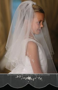 Communion Veil- Style 714 with Comb $33.99