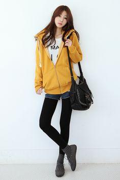 Korean Style - yellow jacket