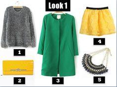 Combina colores y crea un look para hoy.