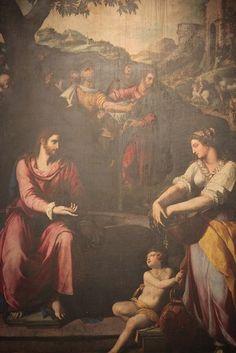 notizie  G.M.  guido michi: Alessandro Allori - Gesù al pozzo con la samaritan...