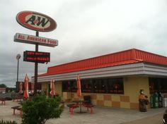 HE LOVES A&W'S FOOD!