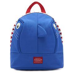 Joules Junior Buddie Boys Shark Backpack | Charles Clinkard