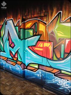 A door by Dexa at Street Art Axa Porto. VOND   Spread the Love*