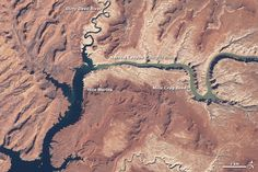 Water Level in Lake Powell