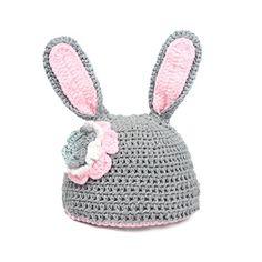 Elee Baby Handmade Crochet Knit Animal Hat Beanie Warm Earflap Photograph Props (#4 Rabbit) Elee http://www.amazon.com/dp/B00O67LEXK/ref=cm_sw_r_pi_dp_cyLavb05BNR3C
