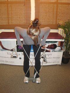 Upper Back / Traps & Rhomboids Strengthening Exercises